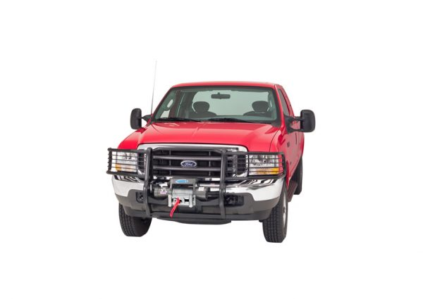 FORD WITH GRILLE AND BRUSH GUARD